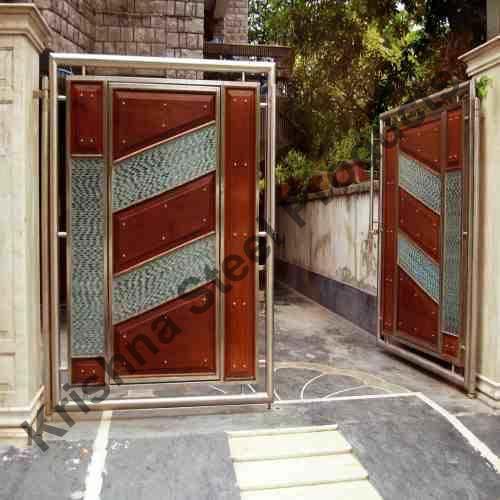 Stainless Steel Main Gates 03 Buy In Yamunanagar
