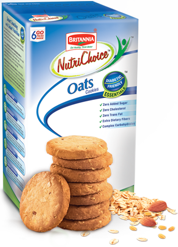Buy Britannia NutriChoice Oat Cookies