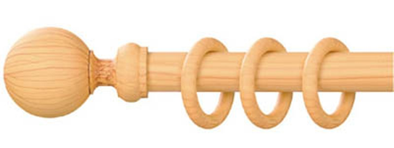 wooden curtain rods more