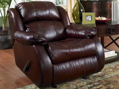 Charming Leather Reclining Chair