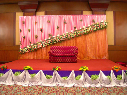 Wedding stage decorations buy in chennai wedding stage decorations junglespirit Gallery