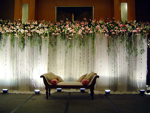 Stage Wedding Photo Wedding Stage