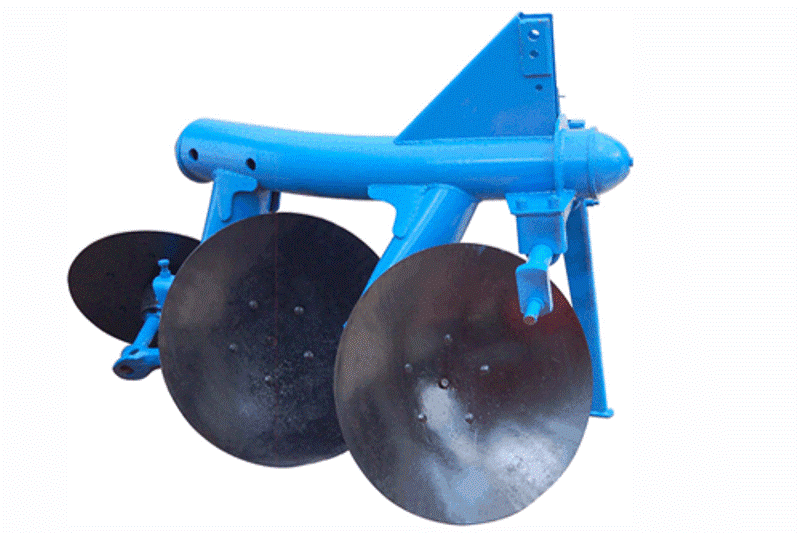 Disc Plough Drawing Mounted Disc Plough