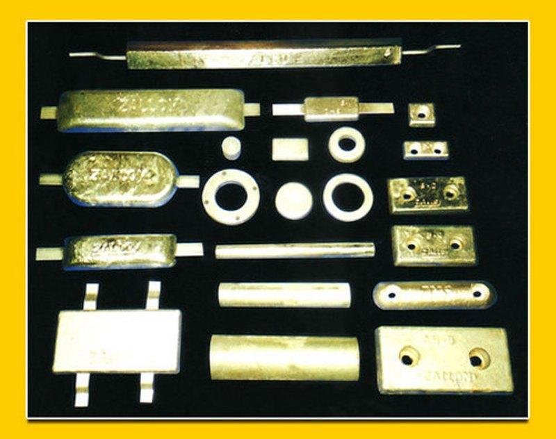 Aluminium & Zinc Anodes