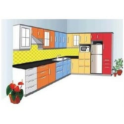 Modern L Shape Modular Kitchens — Buy Modern L Shape Modular ...
