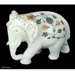 Buy Elephant Marble Sculpture