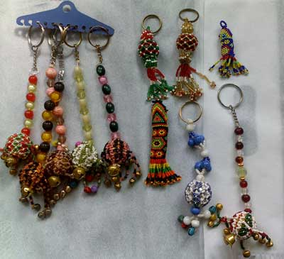 Buy Beaded Key Rings