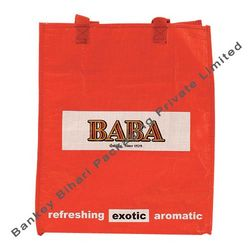 Buy Paper HDPE Laminated Woven Fabric Bags