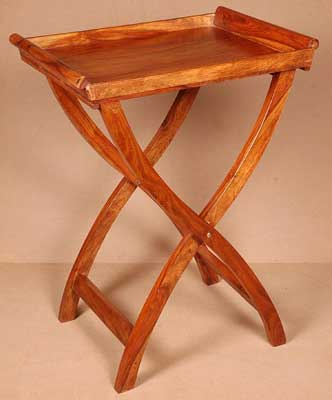 Wooden Folding Tray Table. Wooden Folding Tray Table buy in Jodhpur