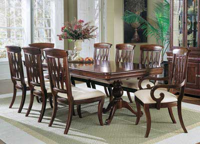 Wooden Dining Table; more
