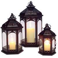 Iron Candle Lantern