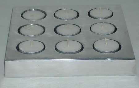 Aluminium Tea Light Holder