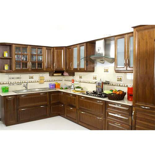 L-Shaped Kitchen Layouts buy in Hyderabad M.Corp