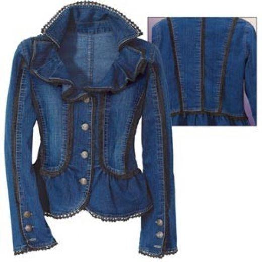 Denim Jackets Ladies