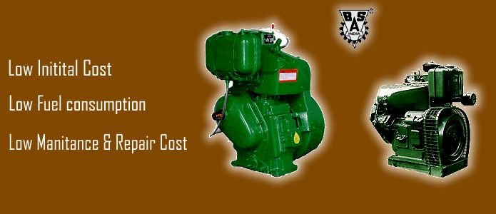 Buy SINGLE/DOUBLE CYLINDER AIR COOLED DIESEL ENGINES