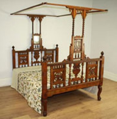 Ordinaire Indian Antique Beds