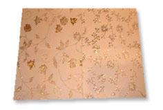 Buy Flocked With Glitter Gift Wrap