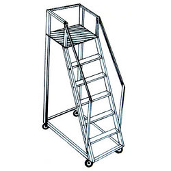 Buy Aluminium Trolley Step Ladder