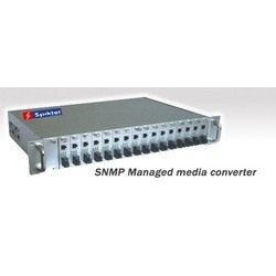 SNMP Managed Media Converter