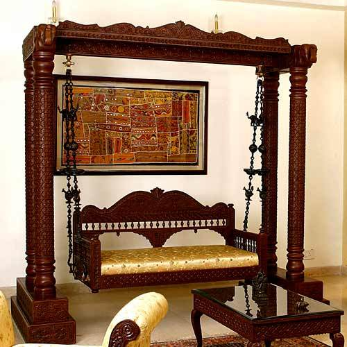 Carved Indian SwingBuy Carved Indian Swing Price