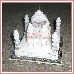 Buy White Marble Taj Mahal Replica