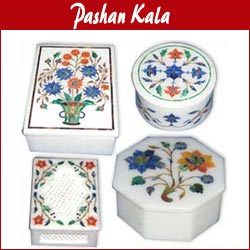 Buy Marble Inlay Jewellery Boxes