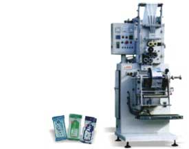 Buy Vertical form, fill & seal pouch & sachet packing machines LX-33