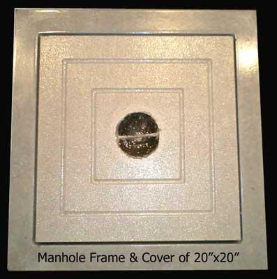 Buy Manhole Frame & Cover of 20