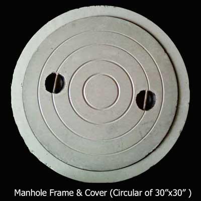 Buy Manhole Frame & Cover(Circular of 30 Medium Duty)