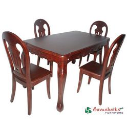 Modern Wooden Dining Table Set (D2)
