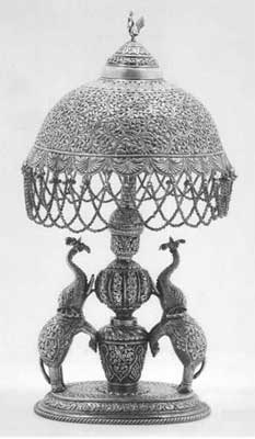 Silver table lamp buy in delhi silver table lamp mozeypictures Choice Image