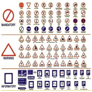 Mandatory Traffic Signs Buy In Delhi Municipal Corporation U