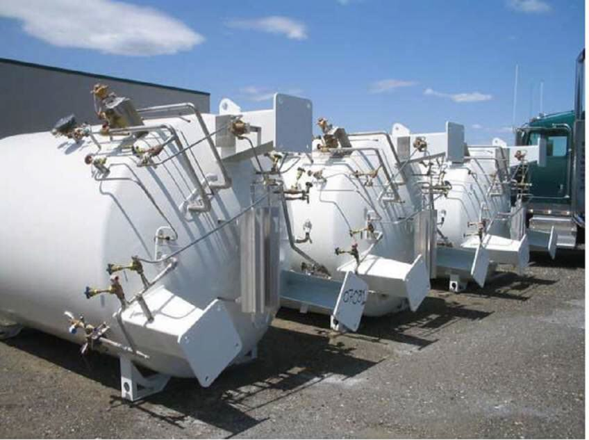 Buy Liquid Oxygen gas tank installation