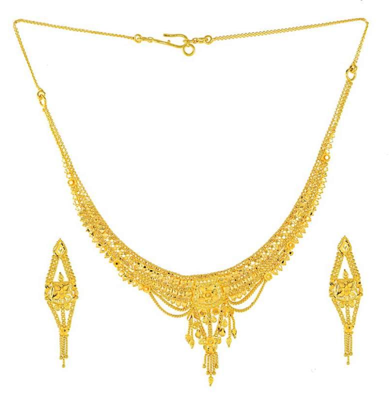 Gold necklace set buy in Mumbai