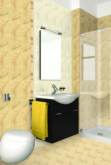 Elegant Bathroom Wall Tiles