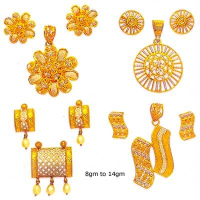 Gold pendant sets buy in mumbai gold pendant sets mozeypictures Choice Image