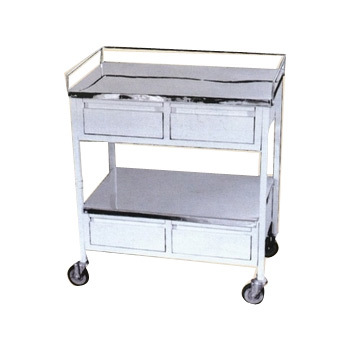 medical trolley with drawers 3