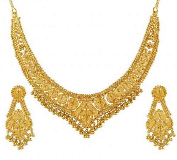 ea5894d4b4739 Gold Necklace Sets buy in Mumbai