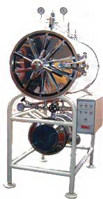 Buy Horizontal High Pressure Cylindrical Steam Sterilizer