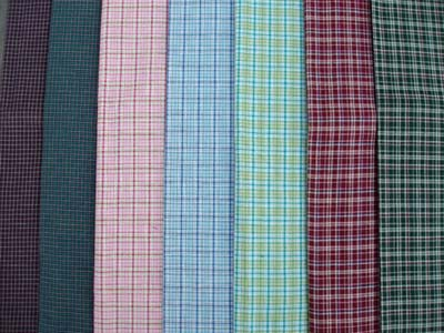 Buy Cotton Yarn Dyed Woven Fabric