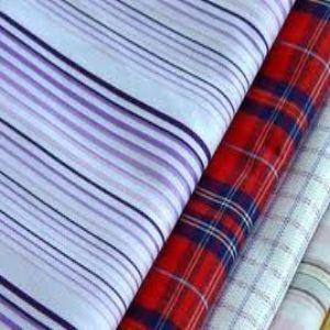 Buy Polyester Cotton Yarn Dyed Woven Fabric