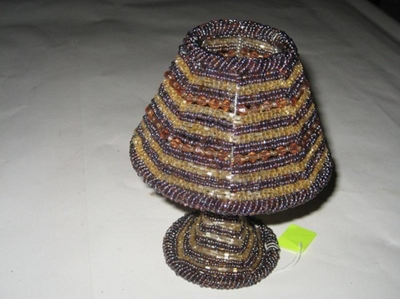 Beaded lamp shades buy in ghaziabad beaded lamp shades aloadofball Choice Image