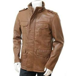 Genuine leather man jacket price India | To buy genuine leather