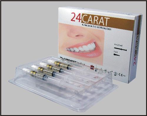 Buy Dental materials - Teeth whitening gel (24 Carat)