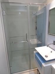 Bathroom Partition Buy In Mumbai - Bathroom partition glass