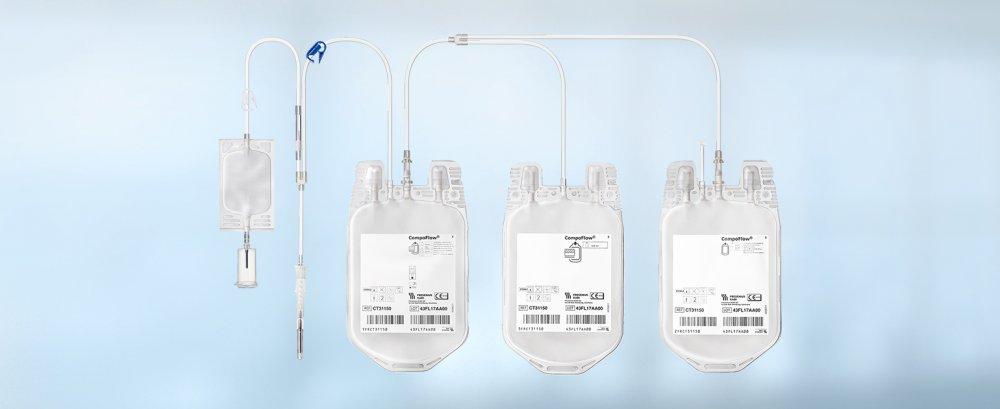 CompoFlex® Triple Blood Bag System