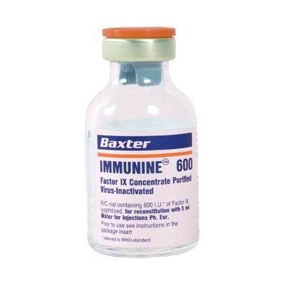 IMMUNINE Purified Factor IX Concentrate Virus- Inactivated