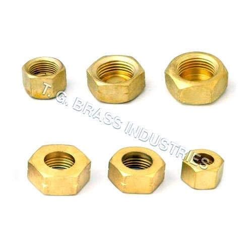 Buy Brass Heavy Hex Nuts