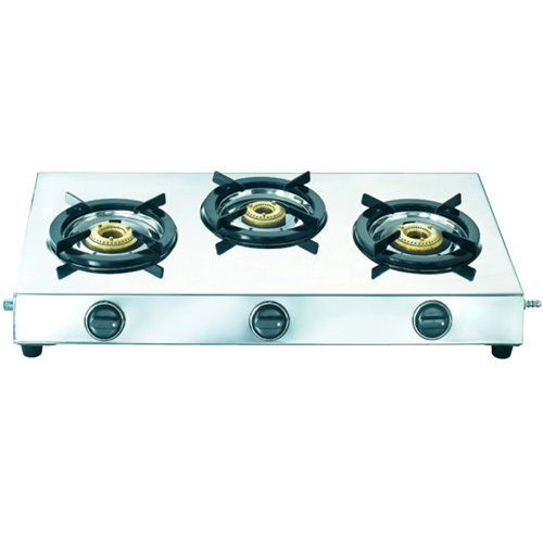 Triple Burner Gas Stove (Trinity)