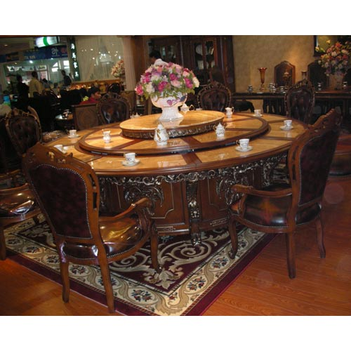 Glam Top Dining Table Set